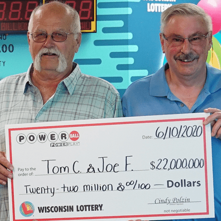 Winners of Powerball lottery.