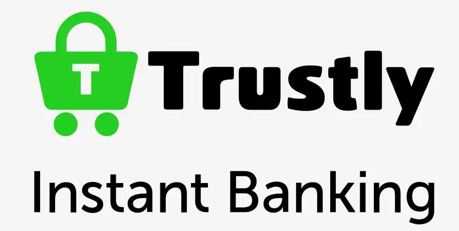 Trustly logo.